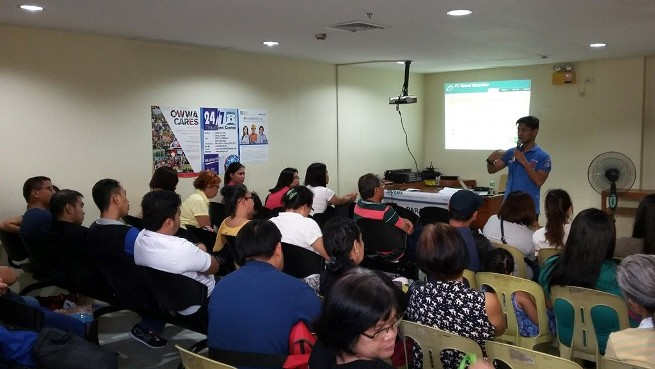 OWWA-RWO VI holds seafarers' rights seminar B-Atty. Gorecho SVBB